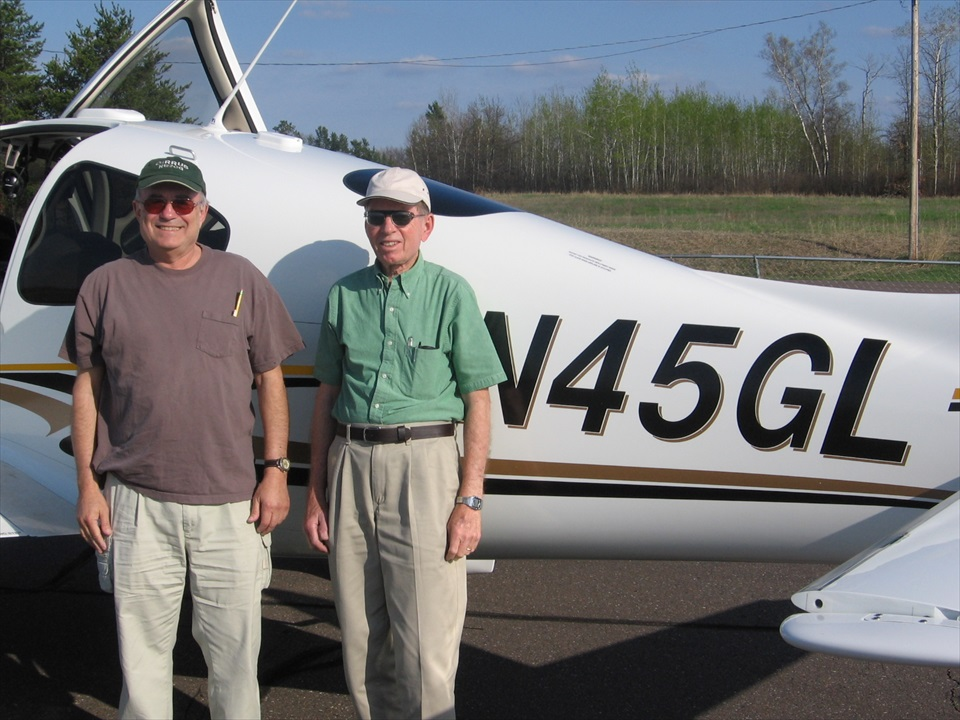 Stan and Dad 45GLA